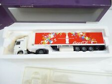 LION CAR// LION TOYS 1:50 DIECAST  MERCEDES ACTROS   COCA COLA  TRAILER NEW OVP