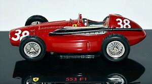 Ferrari 553 F1 Formula1 #38 Mike Hawthorn 1954 1:43 Hot Wheels Elite