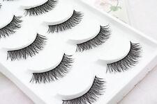 5 Pairs Long Thick Handmade Makeup Fake False Eyelashes Eye Lashes#22