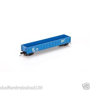 Athearn # 23661  Grand Trunk Western  52' Mill Gondola,  # 148073 RTR N  MIB