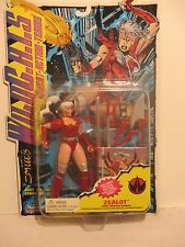 "Jim Lee's Wild C.A.T.S. Zealot 6"" Action Figure w Special Edition Collector Card"