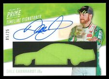 #5/25 DALE EARNHARDT JR 2020 Panini Prime Autograph Auto Race Used Logo Relic 🔥