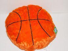 Basketball Pillow Sports 16 Inch SOFT Orange Plush Throw Pillow