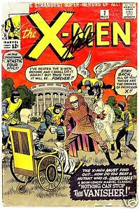 X-Men 2 Stan Lee Signed Autograph CGC SS Xmen No 2  # 2 Marvel Comics X Men #2