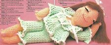 *Drowsy Debbie Doll crochet PATTERN INSTRUCTIONS