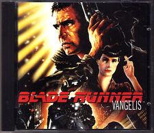 BLADE RUNNER Soundtrack VANGELIS OST CD Ridley Scott Damask Rose Tears in Rain