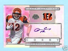 09 TOPPS PLATINUM QUAN COSBY ROOKIE REFRACTOR AUTO