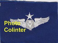 USAF - Brevet  Officer Senior Crew Member  - Ecusson brodé / Insigne tissus