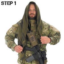 US Army Utility Airsoft Tactical Gear Green Desert Shemagh Keffiyeh Arab Scarf