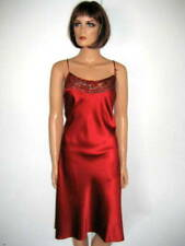 MARJOLAINE NUISETTE rouge taille 44 LEVANA 98% SOIE red BABYDOLL size XL