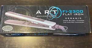 ART FI-2300 Flat Iron Ceramic Nano Silver