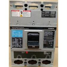 SIEMENS JXD63B250H 3 POLE 250 AMP SENTRON MOLDED CASE CIRCUIT BREAKER, 600/50-6