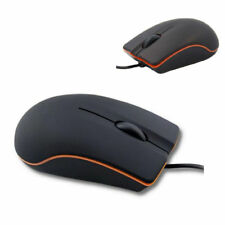 Non-Slip Lenovo Mouse 1000DPI USB2.0 3D Optical Wired Mice For PC Laptop UK