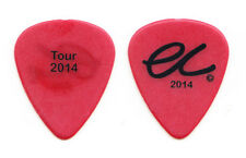 Eric Clapton Red Guitar Pick - Tour 2014