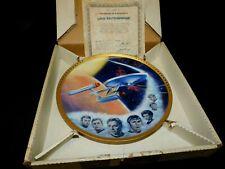 Star Trek - Uss Enterprise Collectors Plate - No.0987S