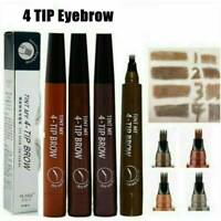 Makeup Microblading Eyebrow Liner Tattoo Pen 4Fork Sketch Ink Pencil Waterproof/