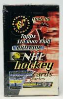 1995-96 Topps Stadium Club Extreme Hobby Edition Hockey Box