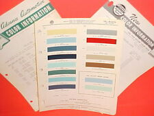 1961 DESOTO PLYMOUTH VALIANT V-100 200 SEDAN HARDTOP STATION WAGON PAINT CHIPS +