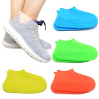 Silicone Waterproof Shoe Cover Outdoor Rainproof Hiking Skid-proof Recyclable US
