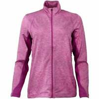 Page & Tuttle Heather Colorblock Layering Jacket  Athletic   Outerwear Pink