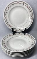 6 Soup Salad Bowls Royal Majestic Fine China 8305 TIVOLT