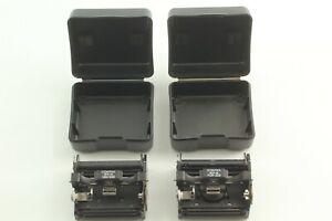 [N MINT 2pieces w/Case] CONTAX 645 MFB-1A 120/220 + MFB-1B 220 Film Insert JAPAN