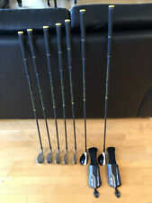 TaylorMade 2017 M2 4-5 Hybrids 6-PW Irons REAX Regular Graphite 7 Club Set