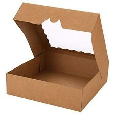 Pack Pie Boxes 10 X 10 X 25 Bakery Boxes With Window Auto Popup 30
