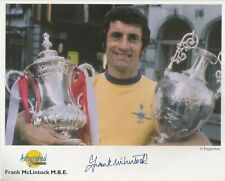 Autographed Editions 10 x 8 inch photo personally signed by Frank McLintock MBE