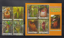 Philippine Stamps 2013 Pitcher Plants Complete set MNH