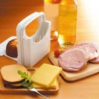 Adjustable Bread Slice Guide Bread Cutter Folding Toast Slicing Mold Best