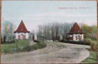 Newark, NJ 1908 Postcard: Ballantine's Gateway - New Jersey