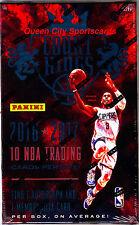 2016/17 Panini Court Kings Basketball Factory Sealed Hobby Box