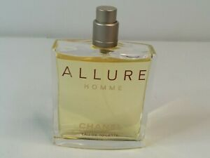 Allure Homme By Chanel Mens Eau De Toilette Spray 3.4 oz. / 100ml