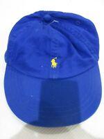 NEW Ralph Lauren Royal Blue Logo Baseball Cap/Hat Size 8-20