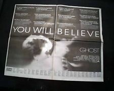 Best Ghost Fantasy Film Movie Opening Day Poster Size Ad 1990 L.A. Ca Newspaper