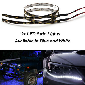 Flexible LED Waterproof Strip Lights for Car Motorbike DRL,Headlight,Tail Light