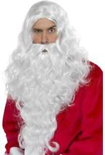 weihnachtsmann-set long-santa NUEVO - CARNAVAL Barba Revestimiento