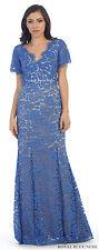 SALE! SHORT SLEEVE EVENING DRESS MODERN FORMAL MERMAID MOTHER of the BRIDE GROOM
