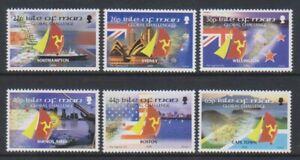 Isle of Man - 2000, BT Global Challenge Yacht Race set - MNH - SG 901/6