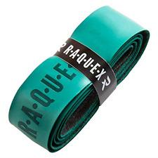 New listing Raquex Replacement PU Racquet Grip: Tennis, Squash, Badminton Dark Green, 1 Grip