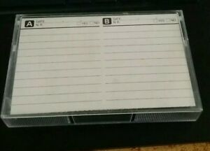 MAXELL MX90 TAPE WILLIAM BURROUGHS AT 100 WITH IGGY POP + TALKING HEADS LIVE