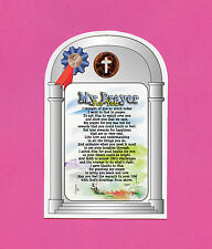 """My Prayer For You"" - Inspirational Poem - Verse Card w/ Cross Penny - SKU# 501"