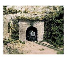 Woodland Scenics #1153 N Scale - Two Cut Stone Portals - Single Track - C1153