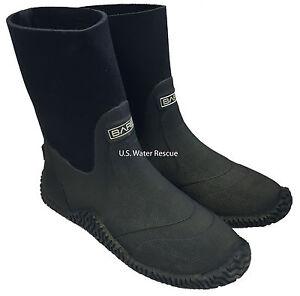 Drysuit Boots Heavy Duty Vulcanized 4mm Compressed Neoprene, BARE Scuba Dry Suit