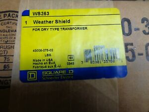 Square D Weather Shield WS363 For Dry Type Transformer