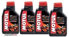 Aceite Motos Motul 4T 7100 10W40 Off Road MA2,  pack 4 litros