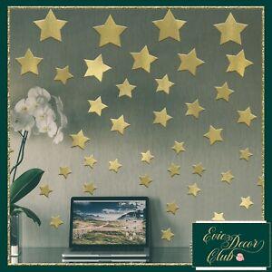 Wall Decals Stars Stickers Room Decor Nursery decoration rose gold star sticker