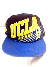 UCLA Bruins Hat New Era Snapback Gold Block Official UCLA Product 3D Embroidered