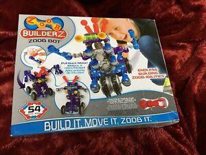New! ZOOB BuilderZ~ZOOB Bot~54 Pieces NIB
